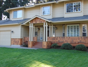 Exterior of a home in Vancouver WA and link to Home Remodeling Services Page