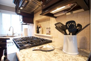 Kitchen lighting and granite countertop remodel in a Vancouver WA home