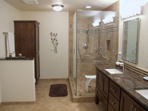 Bathroom remodeling project in Vancouver WA