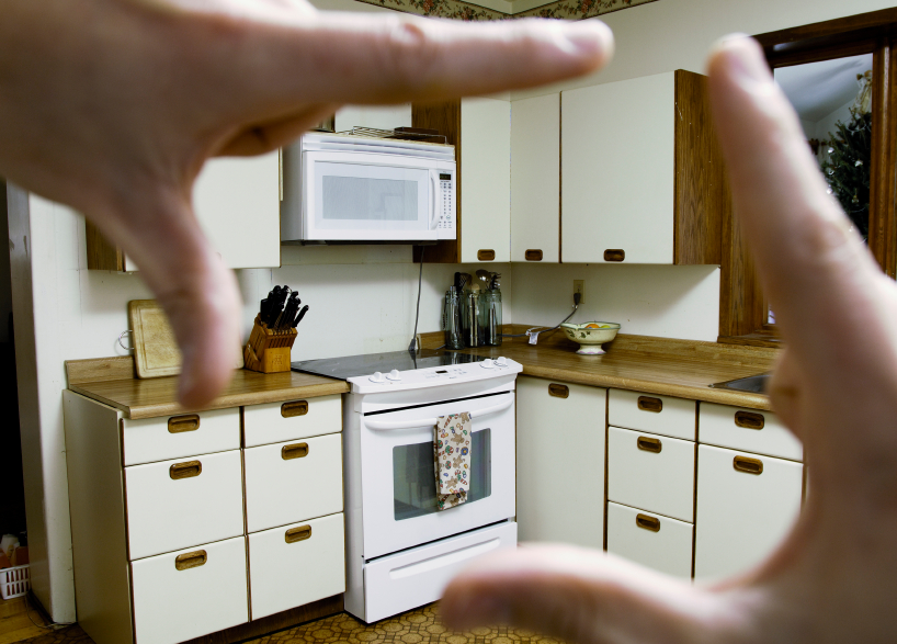 An outdated kitchen in need of a kitchen remodel in Vancouver WA