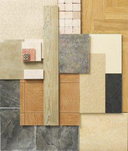 different types of flooring samples in Vancouver WA