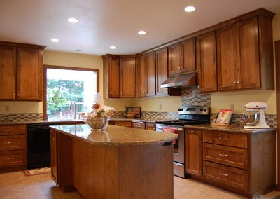 Alder Kitchen Cabinet Remodel Design