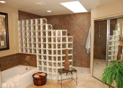 Bathroom Remodel with Custom Walk-in Shower