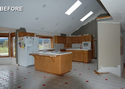 Custom Kitchen Remodel Before