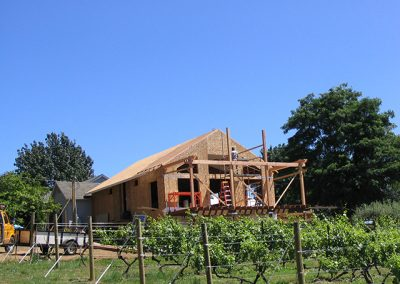 Exterior Addition Framing
