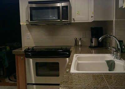Kitchen Remodel Sink and Appliances