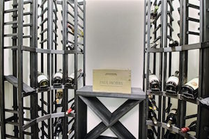 A climate controlled wine storage