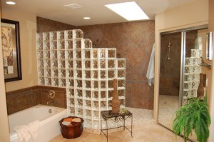 Bathroom Remodel with Custom Walk in Shower