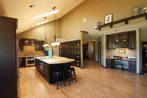 Custom Kitchen Remodel with Data Center