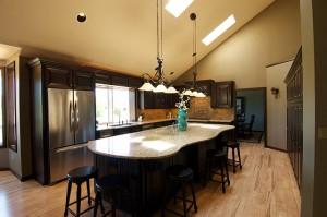 Handcrafted Alder Cabinet Kitchen Remodel